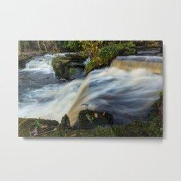 Rivelin Valley Falls Metal Print