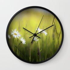 Daisy Landscape Wall Clock