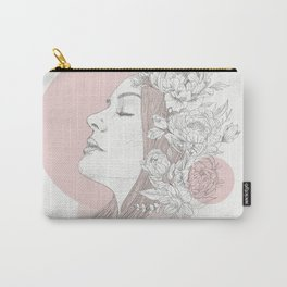 love smells like peony Carry-All Pouch