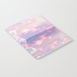 Moon Reflection Sunset Notebook