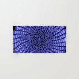more blue spirals Hand & Bath Towel