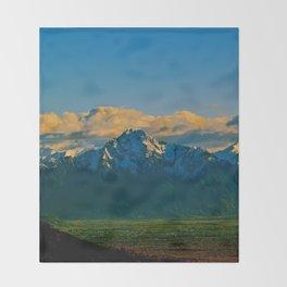 Pioneer Peak - Mat-Su Valley Throw Blanket