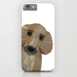 Hallo! My name is Doggy-Pooh iPhone Case