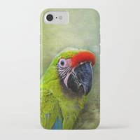 parrot iPhone & iPod Cases featuring parrot by lucyliu