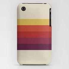 Retro Video Cassette Color Palette iPhone (3g, 3gs) Slim Case
