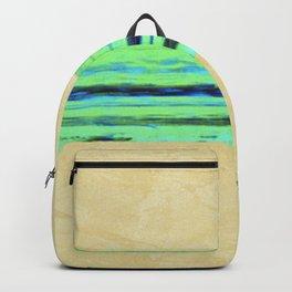 Modern Movement 001 - Corbin Henry Signed - Abstract Landscape Canvas Art - Seascape - Ocean Backpack
