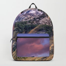 Trevenque. Mountain Light. At Sunset Backpack