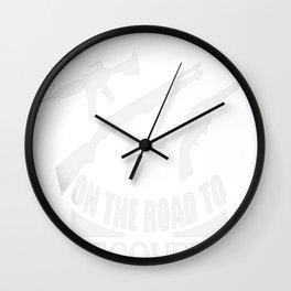 Love Guns Wall Clock