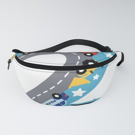 NUMBER TWO CHILD 2ND BIRTHDAY Fanny Pack