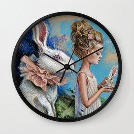 Chasing dream Wall Clock