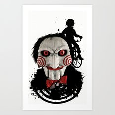 Billy The Puppet: Monster Madness Series Art Print
