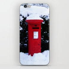 Christmas Card Time iPhone & iPod Skin