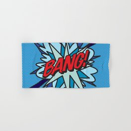 Comic Book Pop Art BANG! Hand & Bath Towel