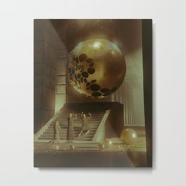 IMMACULATE SPHERE (everyday 07.02.16) Metal Print