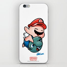 SUPER BECCI BROS. (V1) iPhone Skin