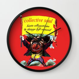 Hints Allegations and Things Left Unsaid Wall Clock