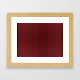 Lindsay Tartan Framed Art Print