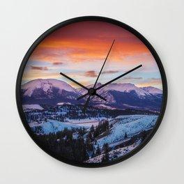 Paint the Sky Wall Clock