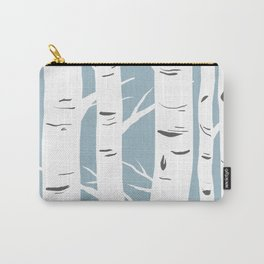 Blue Birches Carry-All Pouch