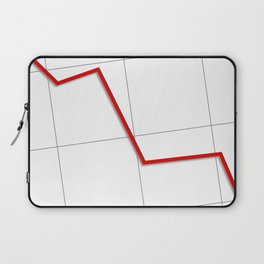 Statistic Down Laptop Sleeve