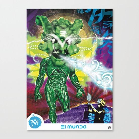 Poster El Mundo Canvas Print
