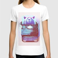 writer T-shirts featuring Grizzly writer by RedGoat
