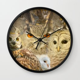 OWL you need is LOVE Wall Clock