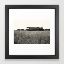 abandoned hero Framed Art Print