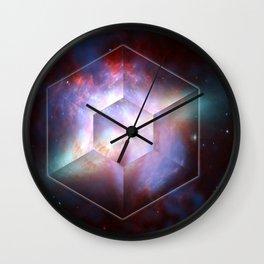 Cigar Galaxy Star Burst Wall Clock