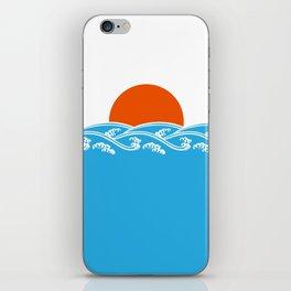 Japanese Tsunami  iPhone Skin