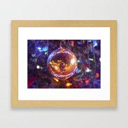 Little memory - Last christmas Framed Art Print