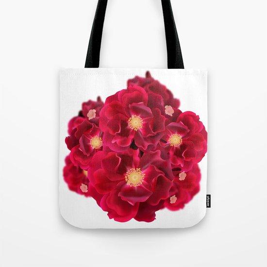 Floral Ink Tote Bag