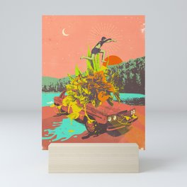SUMMER VIBES Mini Art Print