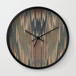 Native Cod Grey Wall Clock