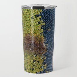 Sunflowers in Abstract Travel Mug
