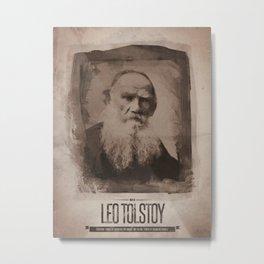 Leo Tolstoy Metal Print