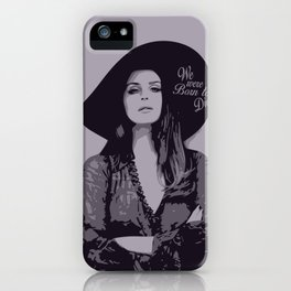 Lana Del Ray  iPhone Case