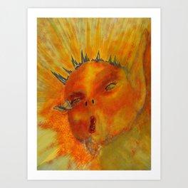 Menses 36 Even Fairies Bleed Art Print