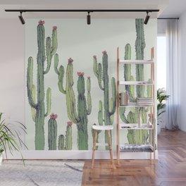 Dry Cactus Wall Mural