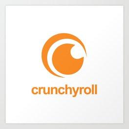 Crunchyroll Art Print