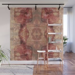 Translucent guides of amber glass - vintage style Wall Mural