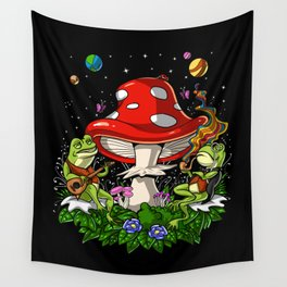 Bufo Alvarius Psychedelic Trip Wall Tapestry
