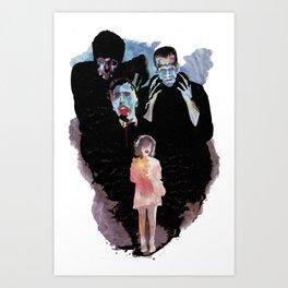 Celebrate monsters Art Print