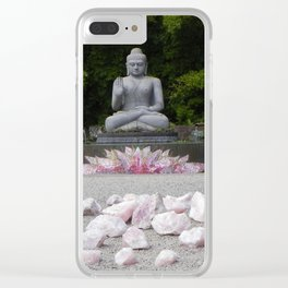 A Vision Of Inner Peace Clear iPhone Case