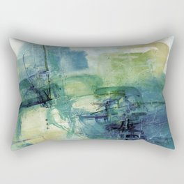 Tao Of Healing No.57E by Kathy Morton Stanion Rectangular Pillow