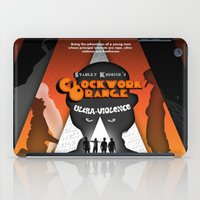 clockwork orange iPad Cases featuring A Clockwork Orange by Martin Woutisseth