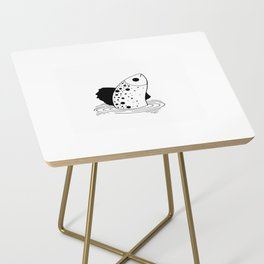 Minimal Fish Side Table