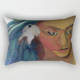 Lady of the sea Rectangular Pillow