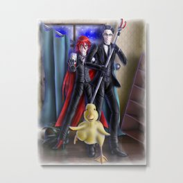 Ducks Don't Make Good House Pets Metal Print