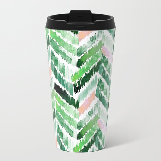 Tropical Vibrations Metal Travel Mug